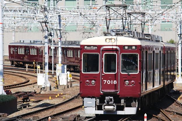 阪急7000系C#7018×8R