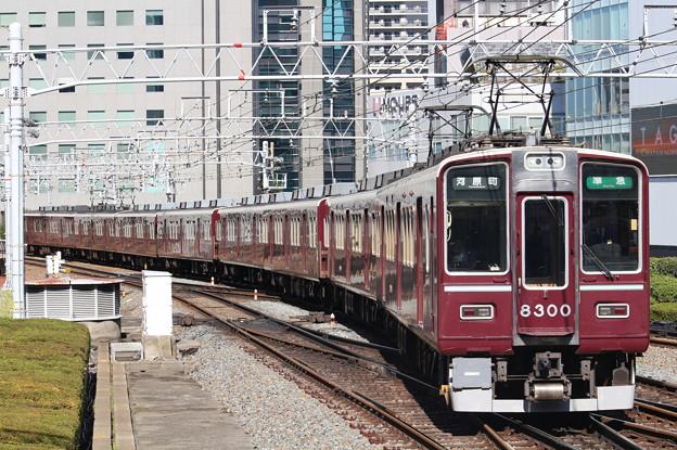 阪急8300系C#8300×8R