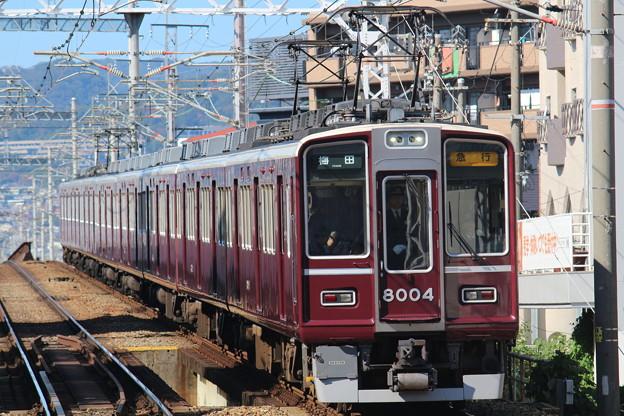 阪急8000系C#8004×8R