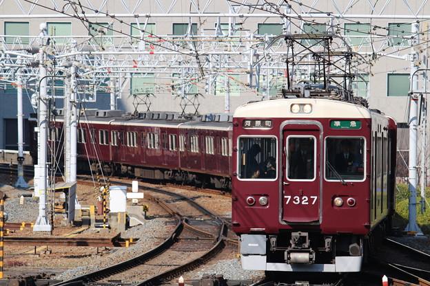 阪急7300系C#7327×8R