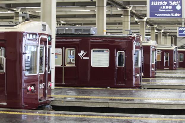 阪急7300系C#7327×8Rほか