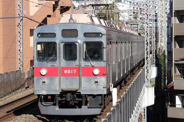 東急8500系8617F