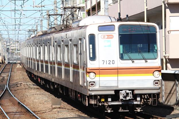 東京メトロ7000系7020F