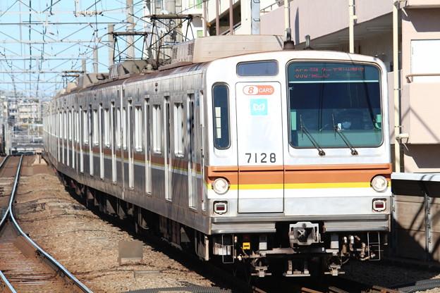 東京メトロ7000系7028F