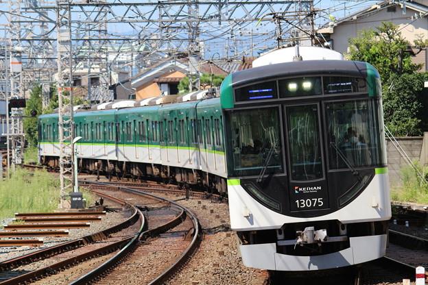 京阪13000系13025F