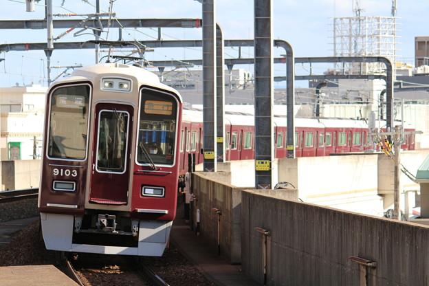 阪急9000系C#9003×8R