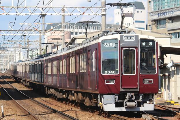 阪急8000系C#8040×2R+同C#8041×2R+7000系C#7024×4R