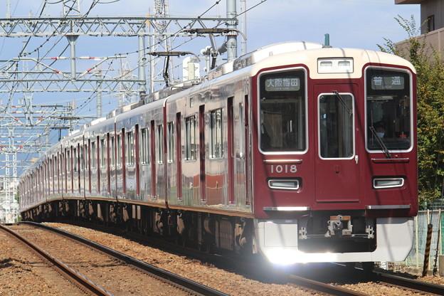 Photos: 阪急1000系c#1018×8R