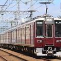 Photos: 阪急8000系c#8040×2R+同8041×2R+7000系c#7024×4R