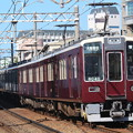 Photos: 阪急8000系c#8040×2R+同c#8041×2R+7000系c#7024×2R