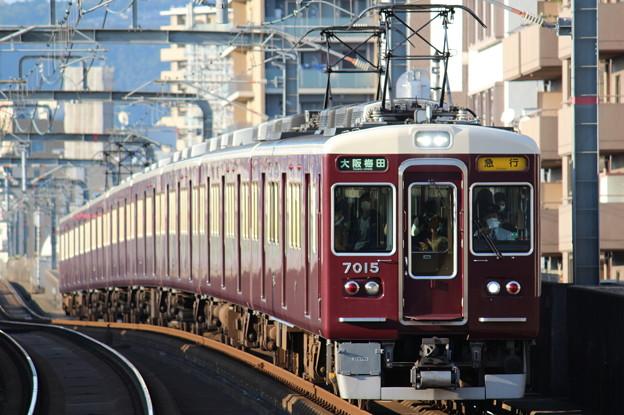 阪急7000系C#7015×8R