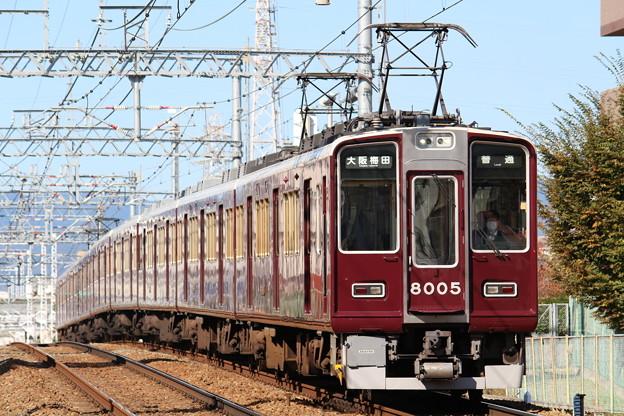 阪急8000系C#8005×8R