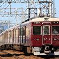 Photos: 阪急6000系c#6011×8R