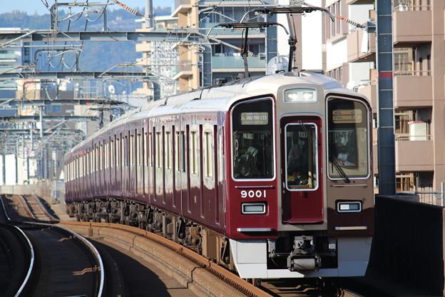 阪急9000系C#9001×8R