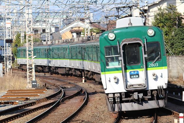 京阪2600系2624F