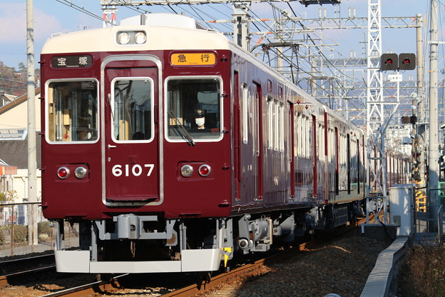 阪急6000系C#6007×8R
