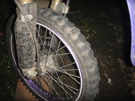 タイヤ限界