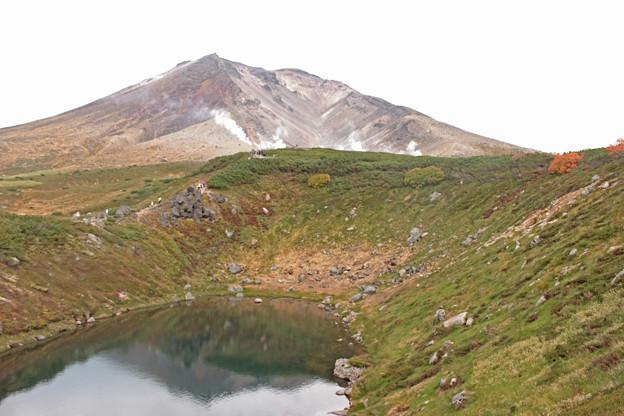 旭岳擂鉢池1IMG_1570b