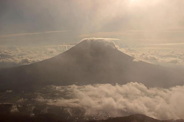 アンヌプリ山頂からの羊蹄山