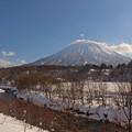 Photos: 羊蹄山と尻別川IMG_4386a