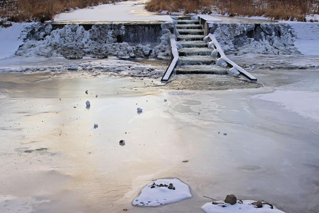 真冬の琴似発寒川IMG_9706b
