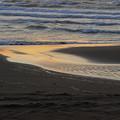 石狩浜の夕景IMG_0355a