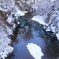 Photos: 白樹と青い渓谷IMG_4773a