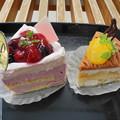写真: 2018.02.24 今日食べたお菓子(銅山堂:赤い果実、くりか)