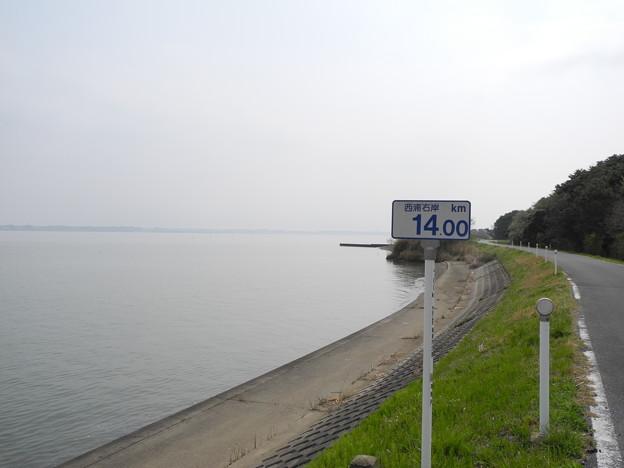 2018.04.03 西浦右岸14km