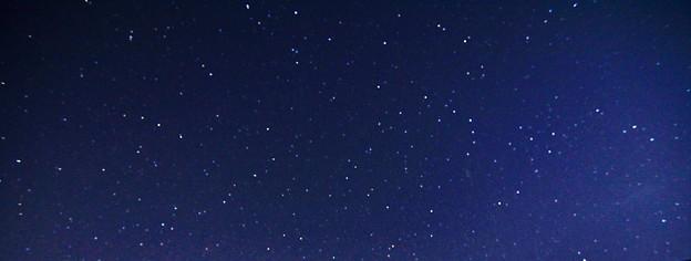 星空の写真撮影