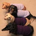 Photos: ママの手編み似合ってるでしょ