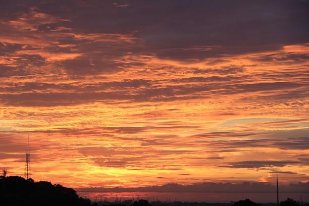 9月7日朝5時14分の空