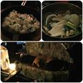 写真: 夕食