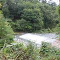 写真: 石空川がサイトから見えるよ