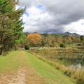 写真: まるやち湖をお散歩