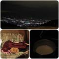 Photos: 甲府盆地の夜景