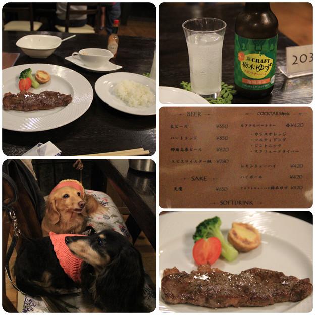 肉料理_チューハイ