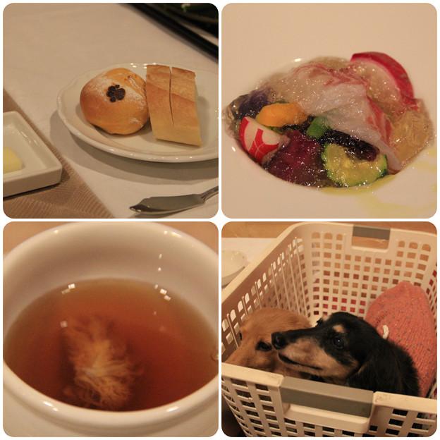 パン_オードブル_スープ