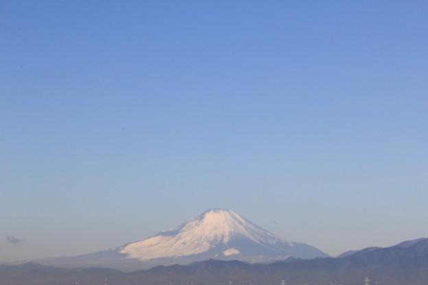 2021年1月13日 朝9時22分の富士山