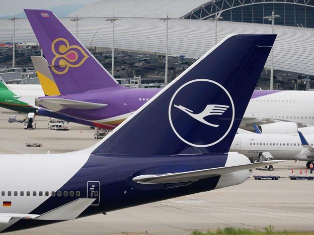Left Side of Lufthansa