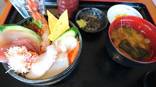 海鮮丼(in松前町)