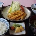 写真: 椎名湖つるや名物わかさぎ定食52