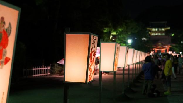 鎌倉ぼんぼり祭1