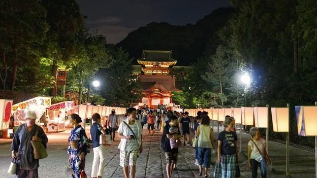 TON05769鎌倉ぼんぼり祭り