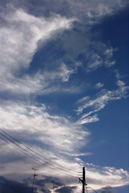 インパクトのある雲-2