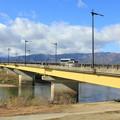 最上川の長井橋