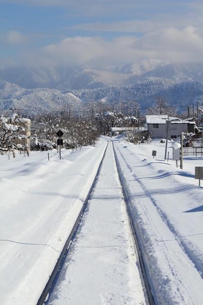 冬のローカル線