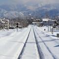 Photos: 冬のローカル線