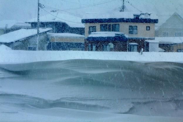 Photos: 雪の造形