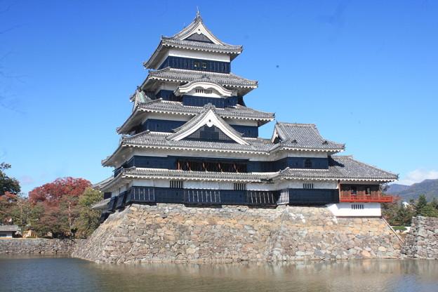 日本国 長野県 松本市 国宝松本城